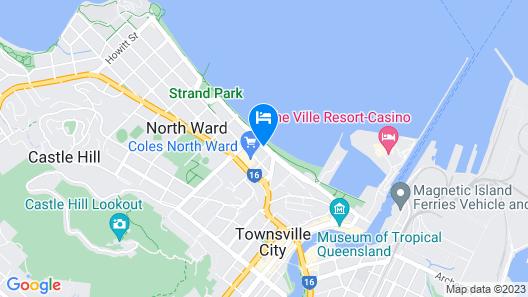 Strand Motel Map