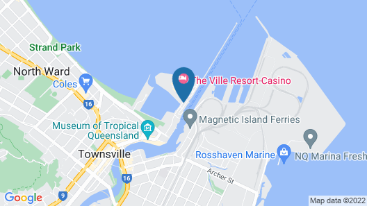 The Ville Resort - Casino Map