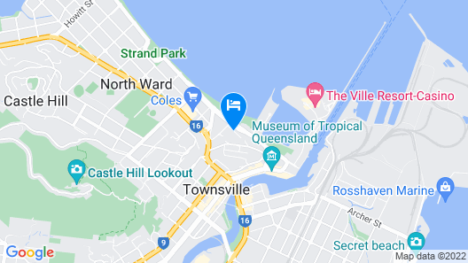 Boutique Apartments Beach Location Map