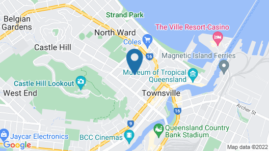 Summit Motel Map