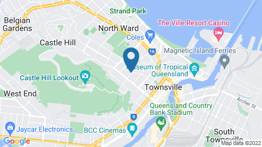 Ridgemont Motel Map