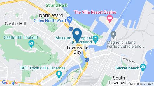Direct Hotels – Dalgety Apartments Map