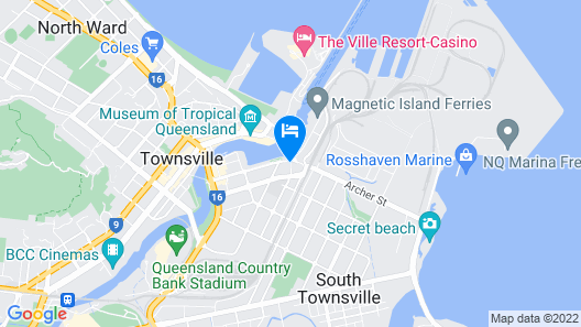 Adventurers Resort - Hostel Map