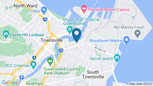Allure Hotel & Apartments Map