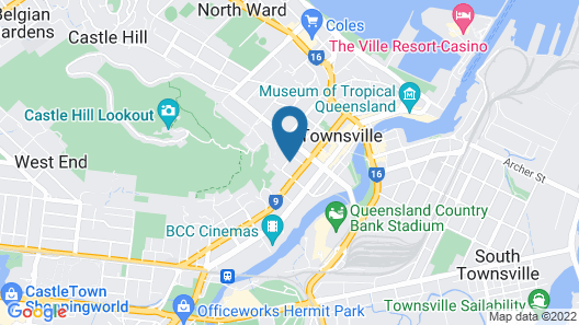 Civic Guest House Map