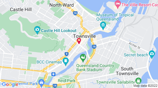 Madison Plaza Townsville Map