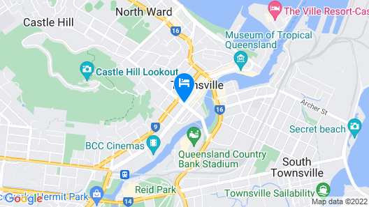Madison Plaza Townsville Map