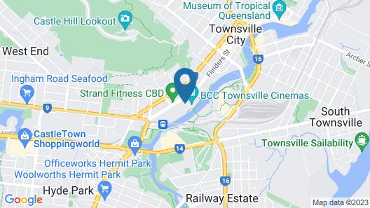 Direct Hotels – Kensington at Central Map