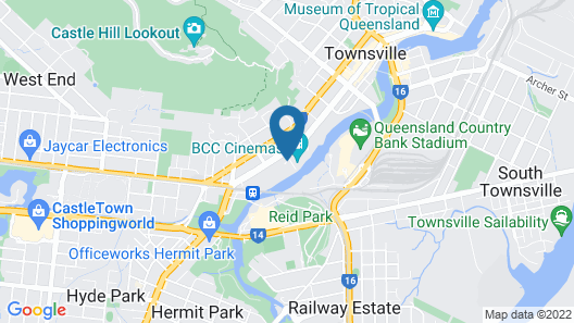 Q Resorts Paddington Map