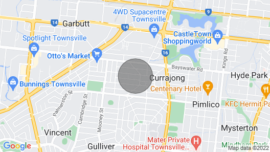 Central Private 3 Bedroom House Netflix Supplied. Self Check IN Map