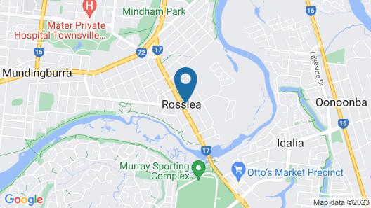 Banjo Paterson Motor Inn Map