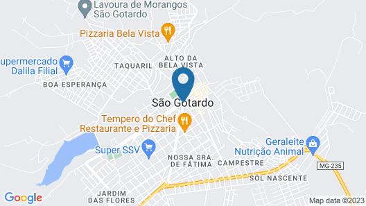 Hotel San Diego Suítes Map