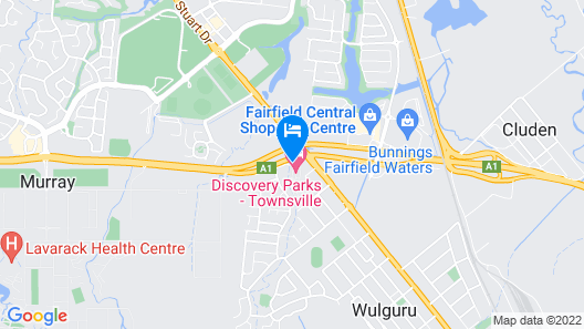 Discovery Parks - Townsville Map