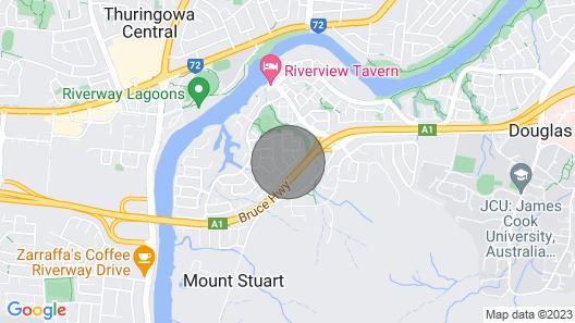 Amazing Douglas Location! Close to JCU /tvownsville General Hospital Map