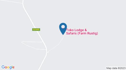 Toko Kamanjab Lodge & Safari Map