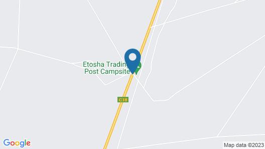 Etosha Trading Post Map