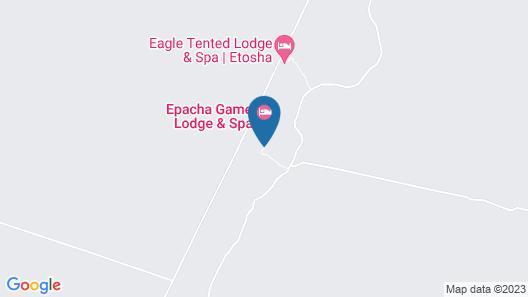 Epacha Game Lodge & Spa Map