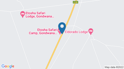Etosha Safari Camp Map