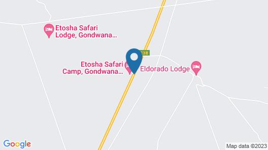 Etosha Safari Lodge Map