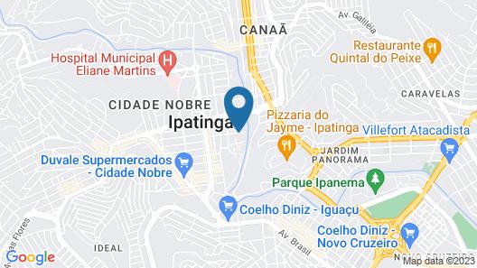 Domus Hotel Afonso Guimarães Map