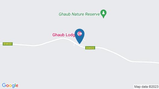 Ghaub Nature Reserve & Farm Map