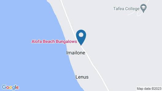 Alofa Beach Bungalows Map