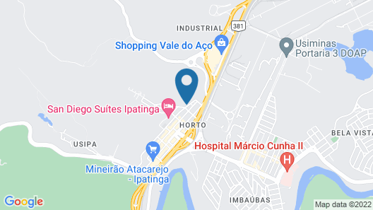 San Diego Suítes Ipatinga Map
