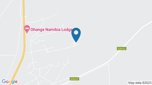 Ohange Namibia Lodge Map