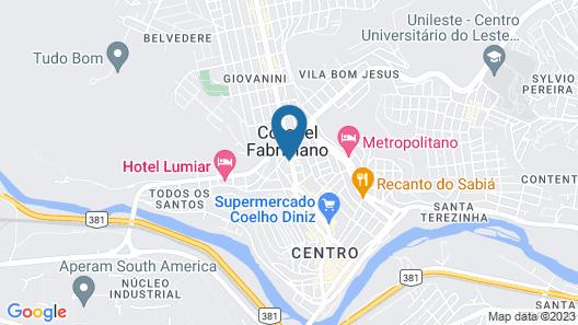 Hotel Ponto Chic Map