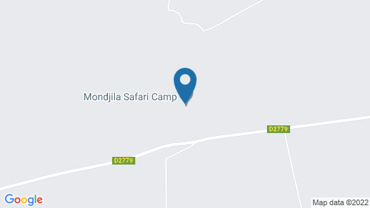 Mondjila Safari Camp - Campsite Map