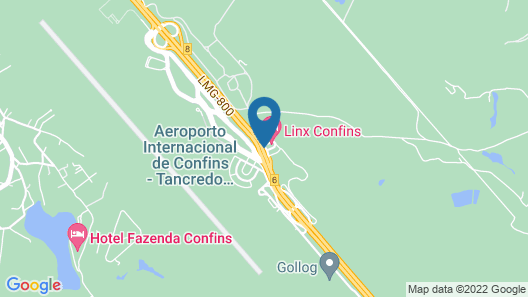 Linx Confins Map