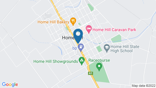 Commercial Hotel Home Hill Map