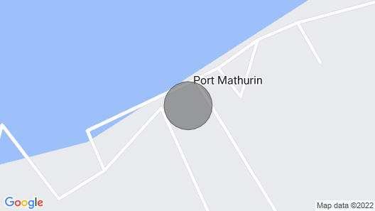 Lacaze TiMay in the center of Port Mathurin, capital of Rodrigues Map