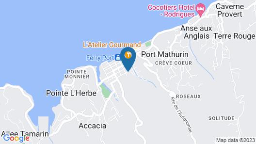 Le Flamboyant Hotel Map
