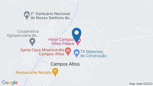 Campos Altos Palace Hotel Map