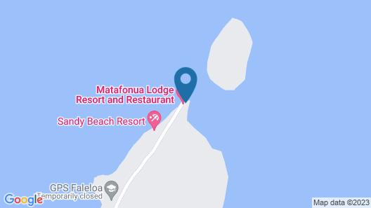 Matafonua Lodge Map