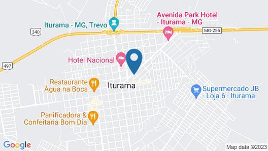 Avenida Park Hotel - Iturama Map
