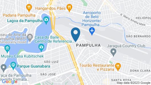 Frimas Pampulha Hotel Map