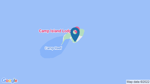 Camp Island Lodge Map
