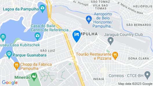 Nobile Inn Pampulha Map