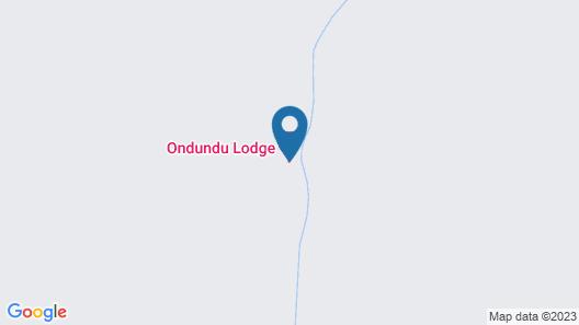 Ondundu Etosha Lodge Map