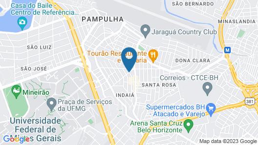Allia Gran Pampulha Suites Map