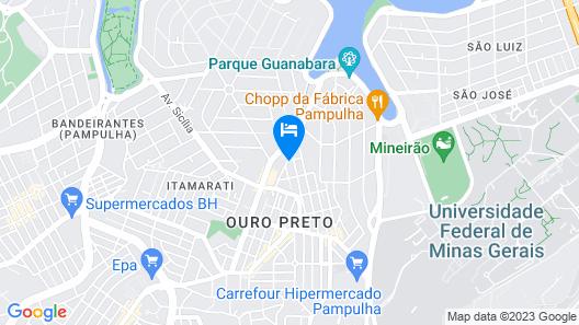 Pousada Pampulha R&R Map