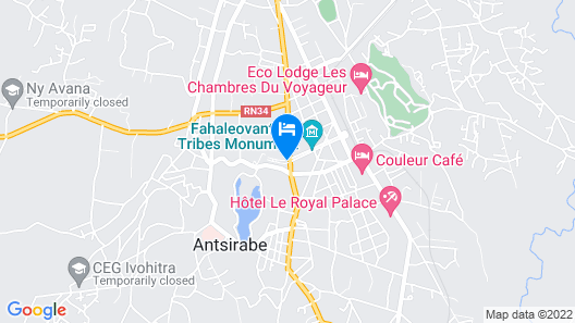Hôtel des Thermes Antsirabe Map