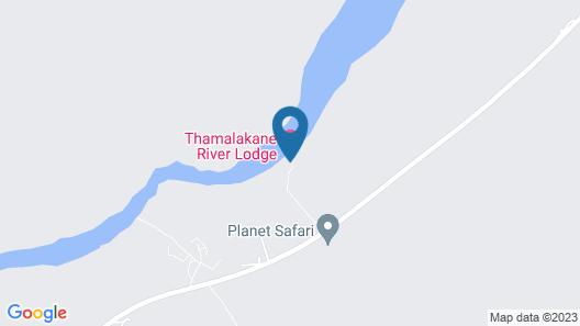 Thamalakane River Lodge Map