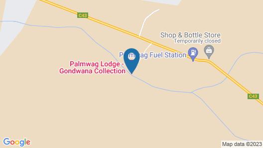 Palmwag Lodge Map