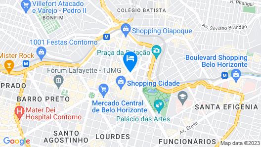 Hotel Brasil Palace Map