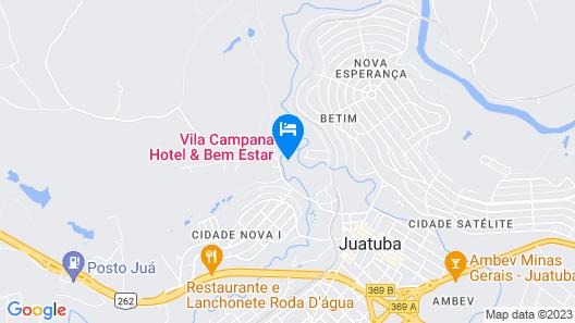 Vila Campana Hotel & Bem Estar Map