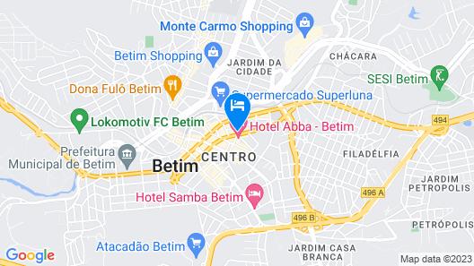 Hotel Abba Map