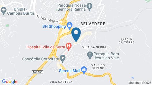 Mercure Belo Horizonte Vila Da Serra Hotel Map